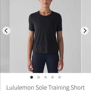 Lululemon Sole Training Short Sleeve